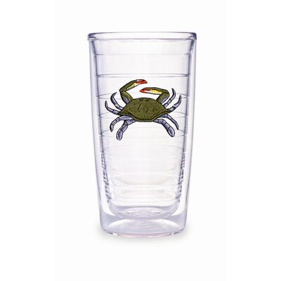 Blue Crab 16 oz. Tumbler (Set of 2)