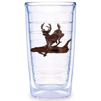 Tervis Tumbler Deer Running 16 oz. Tumbler (Set of 2)
