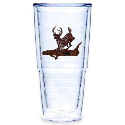 Deer Running 24 oz. Big-T Tumbler (Set of 2)