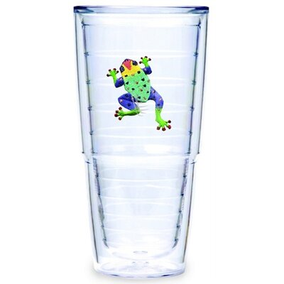 Tervis Tumbler Tropical and Coastal Frog 24 oz. Big-T Insulated Tumbler