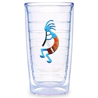Kokopelli Blue 16 oz. Tumbler (Set of 2)