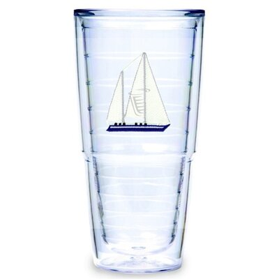 Sailboat Hc Blue 24 oz. Big-T Tumbler (Set of 2)