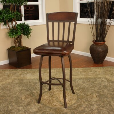 "American Heritage Lancaster 30"" Swivel Bar Stool"