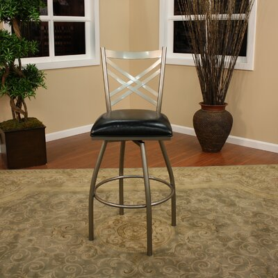 "American Heritage Alexander 24"" Swivel Bar Stool"