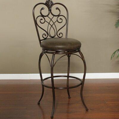 American Heritage Solace Bonded Leather Stool
