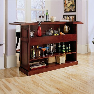 "American Heritage Lexington 72"" Home Bar"