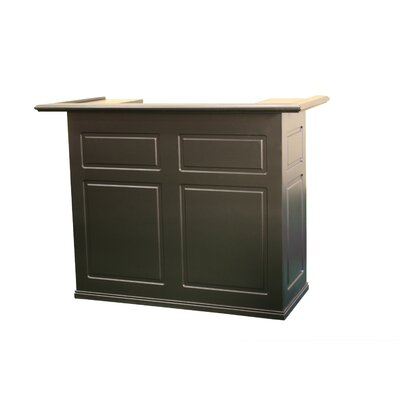 American Heritage Trenton Fridge Bar in Black