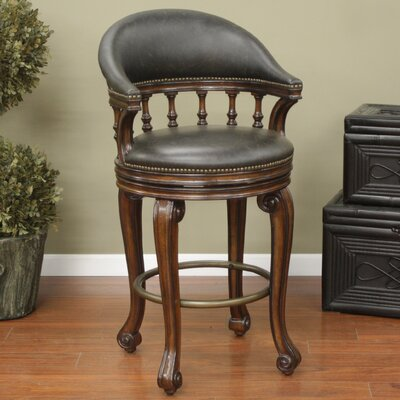 Giovanni Swivel Bar Stool with Cushion