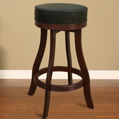 "American Heritage 30.5"" Swivel Bar Stool with Cushion"