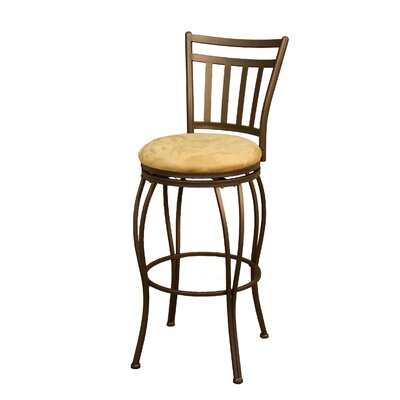 "American Heritage Folio 30"" Swivel Bar Stool"
