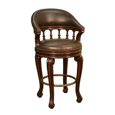 American Heritage Giovanni Swivel Bar Stool with Cushion