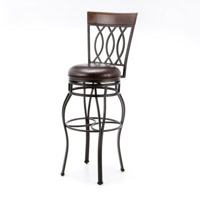 "<strong>American Heritage</strong> Bella Stool 34"" Swivel Bar Stool"
