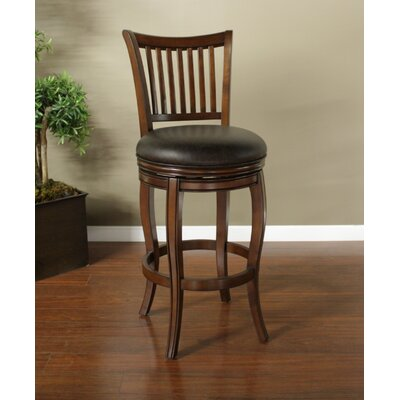 American Heritage Maxwell Bonded Leather Stool