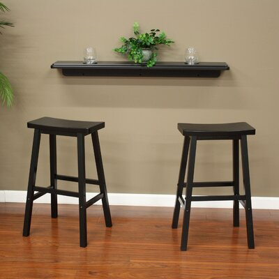 American Heritage Austin 3 Piece Pub Table Set