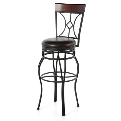 "<strong>American Heritage</strong> Starletta 34"" Swivel Bar Stool"
