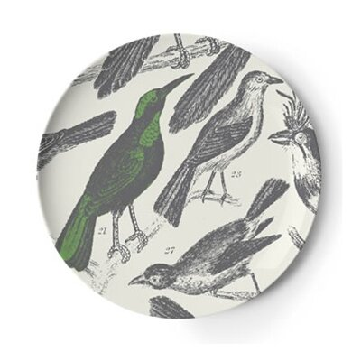 Thomas Paul Ornithology Dinner Plate (Set of 4)