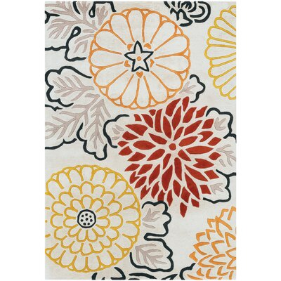 Thomas Paul Tufted Pile Red Kimono Rug