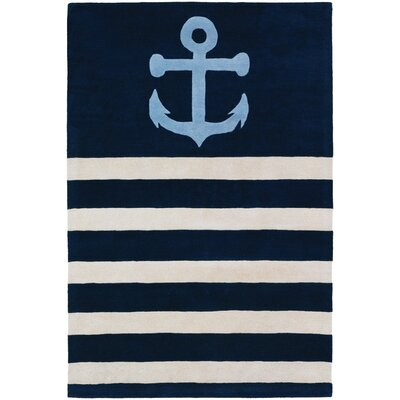 Tufted Pile Blue Sailor Rug