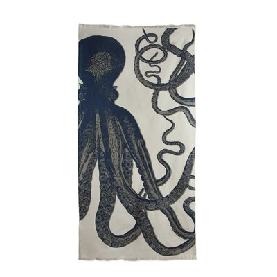Bath Octopus Beach Towel