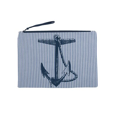 Thomas Paul Anchor Seersucker Pouch