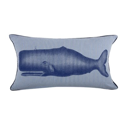 Moby Seersucker Pillow