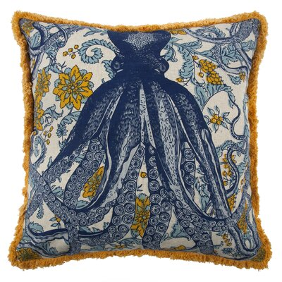 Vineyard Octopus Pillow