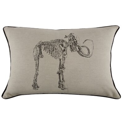 Grand Tour Mammoth Embroidered Pillow