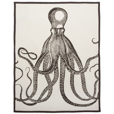 Octopus Tea Towel in Java (Set of 2)