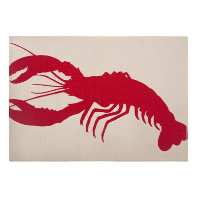 Thomas Paul Lobster Placemat in Lava