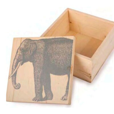 Thomas Paul Elephant Pine Box