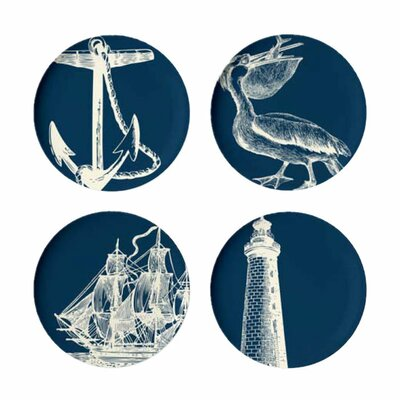 <strong>Thomas Paul</strong> Scrimshaw Dinner Plate (Set of 4)