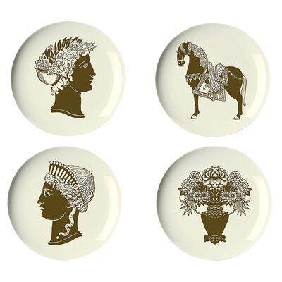 Thomas Paul Artifacts Dessert Plate (Set of 4)