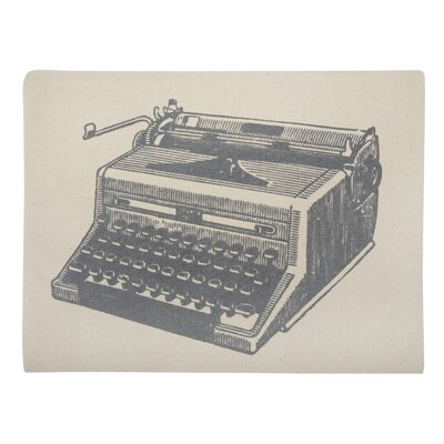Thomas Paul Typewriter Ipad Envelope