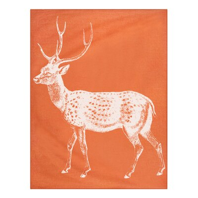 Thomas Paul Baby Alpaca Deer Throw