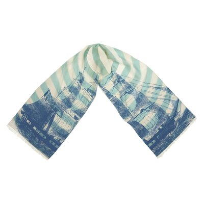 Thomas Paul Ship Wool Scarf