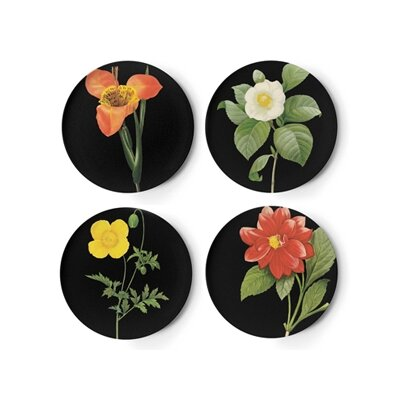 Thomas Paul Florilegium Coasters (Set of 4)