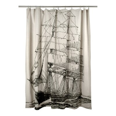 Ship Shower Curtain