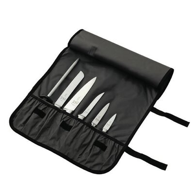 Mercer Cutlery Genesis 7 Piece Forged Knife Roll Set