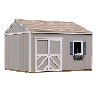 Handy Home Premier Series Columbia Wood Storage Shed