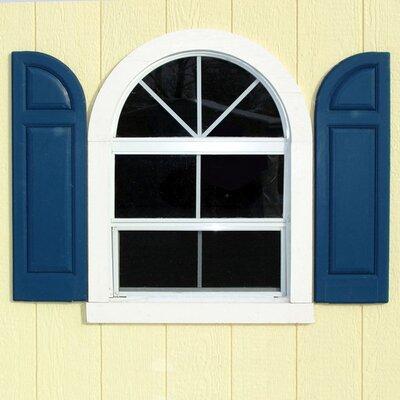 Handy home wayfair for Round top windows