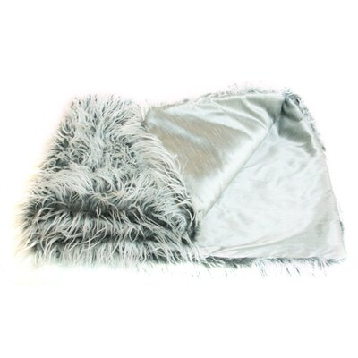 Prestige Mongolian Faux Lamb Throw