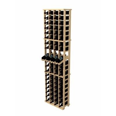 Rustic Pine 80 Bottle Wine Rack