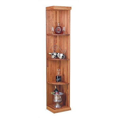Designer Series Quarter Round Shelf