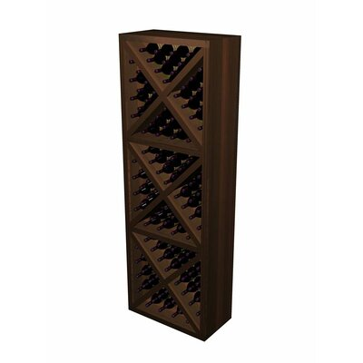 Wine Cellar Innovations Designer Series 132 Bottle Diamond Cube Wine Rack