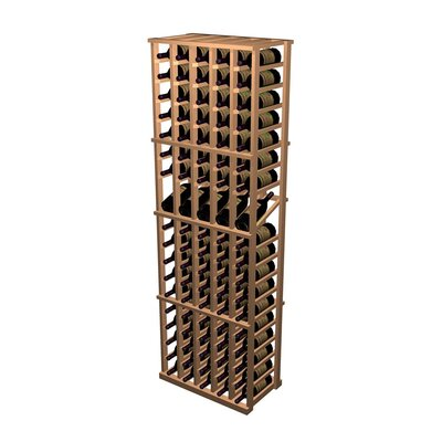 Wine Cellar Innovations Designer Series 95 Bottle 5 Column Individual with Display Wine Rack