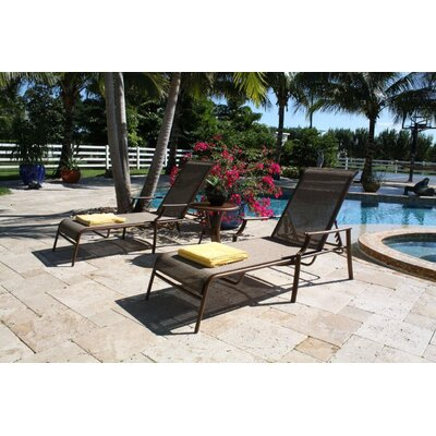 Hospitality Rattan Chub Cay 3 Piece Lounge Seating Group