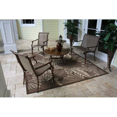Hospitality Rattan Chub Cay 5 Piece Lounge Seating Group
