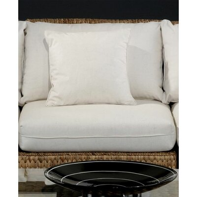 Seagrass Middle Armless Section Deep Seating Chair with Cushion