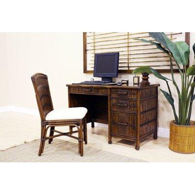 Hospitality Rattan Polynesian Computer Desk
