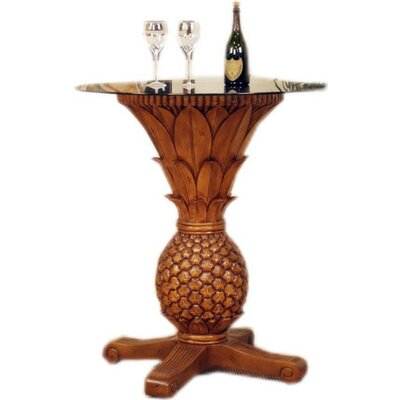Hospitality Rattan Sunset Reef Rattan Pineapple Pub Table